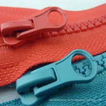 Preiswerter Reißverschluss-unsichtbarer Plastikmetall-Messingnylon-Reißverschluss für Kleidungs-Zusätze