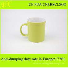 Großhandelsgewohnheit fördernde keramische Kaffeetasse-Schale