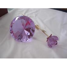 Розовый Кристалл Свадебные сувениры (JDH-041) с красивой фигурой
