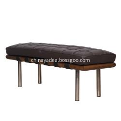 Living Room Upholstered Barcelona Bench Chair