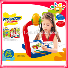 new arrival kids projection painting machine drawing machine