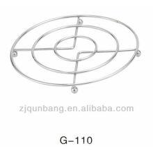 3 circles rack de cozinha, porta-vapor, rack de vasos, rack de vapor