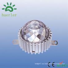 Shenzhen manfacturer 6w 9w 12w decorativo 12-24v 12v ip65 9w llevó la iluminación de la fuente del punto