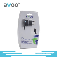 EU Plug Travel Charger with Charging Cable