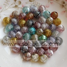 Hot Selling 8mm Colorful Round Smooth Tiny beads