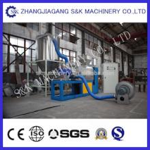 Film Drying Squeezing Granulator Machine