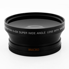 62mm 0.43X UV82 Wide Angle Macro Lens For Canon EOS Nikon Camera Lens
