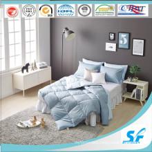 Soild Printing Goose Feather Quilt for Korea Home Bedding