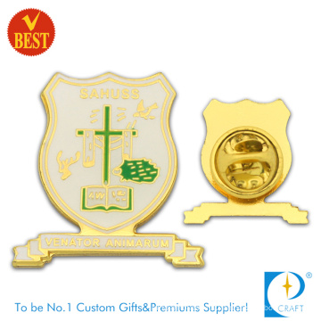 Supply Metal Souvenir Enamel Gold Plating Religious Pin Badge in High Quality