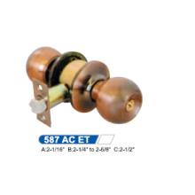 Cylindrical Door Knob Lock 587