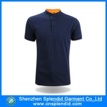 Novo Design 100% Algodão Polo T-Shirt Fabricante em China