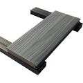 L'usine directe Wpc Co a expulsé les produits composites clôturant le Decking avec le fournisseur en bois de la Chine
