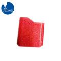 Red Wrinkle Pulverbeschichtung Aluminium Cover Case