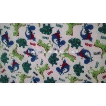 Tecido de flanela de algodão infantil em estoque