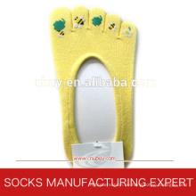 Frauen-Baumwoll-Boots-Zehen-Socken (UBUY-059)