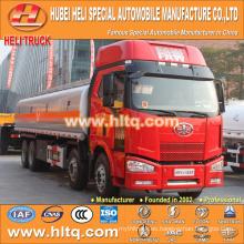 Venta caliente de la buena calidad del carro 30000L del camión cisterna de FAW 8X4 para la venta