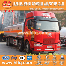 FAW 8X4 oil tanker truck 30000L good quality hot sale for sale
