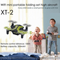Abejón plegable del selfie del mini abejón del nano 2.4G 4CH de PK CX-10 con el tirón de la cámara del wifi de 720P 3D para los niños del regalo SJY-XT-2