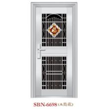 Porta de aço inoxidável para a luz do sol exterior (SBN-6698)