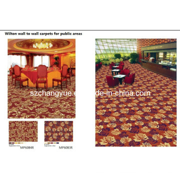 Wilton Broad Loom Wool Hotel Carpets