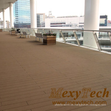 Balkon WPC zusammengesetzten hölzernen Bodenbelag, sparsamen Stil
