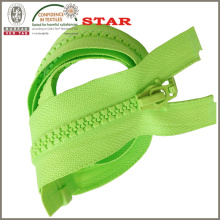 Dtm dekorativer Plastikzipper (# 5)