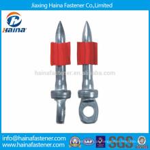 Pregos de furo KD de alta resistência com tampão vermelho