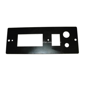 Plaque d'interrupteur à bouton poussoir en acier
