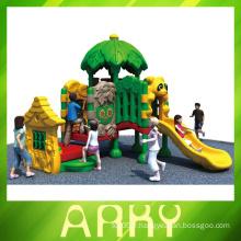 Terrain de jeux en plastique pour jeux d'enfants 2014 avec prix d'usine