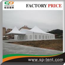 Luxus-Zelt mit Glastür für Hochzeit und Treffen verwendet