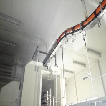 Equipamento automático do revestimento do pó com cabine de pulverização