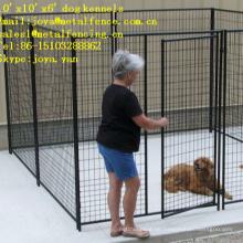 10'x10'x6 'alle geschweißten Anti-Rost-Medium und große Hundehütten