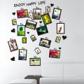 Stickers muraux décoratifs nouveau design qualité supérieure famille cadre photo personnalisé Home Decor autocollant mural amovible