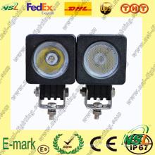 Grosses soldes! ! Lampe de travail à LED 10W, Lampe de travail à LED 850lm, Lampe de travail à LED 12V DC pour camions