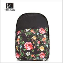 Worldwide flower print backpack/custom backpack/fashion design backpack