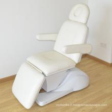 lit facial électrique beauté lits pour salon de massage