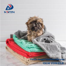 Medium and Large Pet Towel Microfiber Soft Bath Drying Towels for Dogs/ Cats