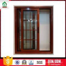 Fenêtre coulissante verticale en aluminium de conception personnalisée de conception Fenêtre coulissante verticale en aluminium de conception de conception personnalisée