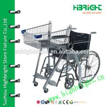 Корзина для инвалидов супермаркета
