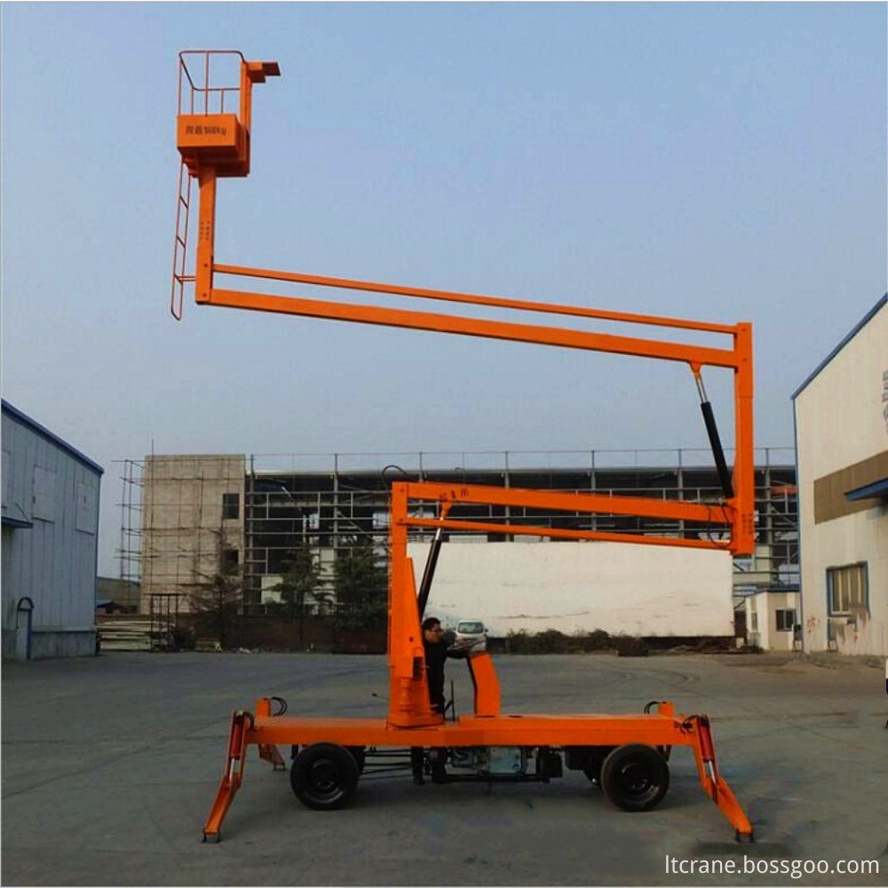 aerial l lift vehicle