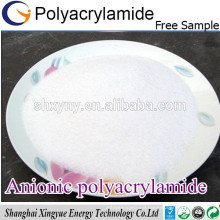 High polymer flocculant anionic polyacrylamide pam
