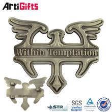 Hebillas de cinturón de latón macizo de Carft profesional Hebilla de cinturón de bronce antiguo