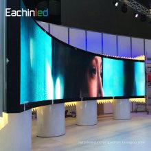 P3.9 affichage à LED D'utilisation mince et léger de location avec la barre accrochante
