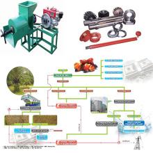 Máquina de la prensa de aceite de palma