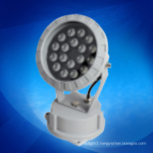 DMX rgb led outdoor flood lights 18W DC 24V made in China