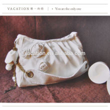organic cotton canvas duffel bag canvas leisure bag oem