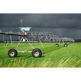 automatic power-driven pivot irrigation systems