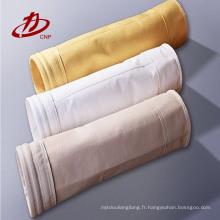 Fournisseur industriel de sac de filtre de collection de poussière