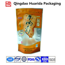 FDA Gravure Customized Printing Plastic Beef Jerky Packaging Bag