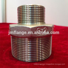 stainless steel 304/316l reducing hexagon nipples